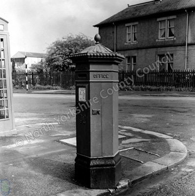 Ilkley, Victorian Pillar Box